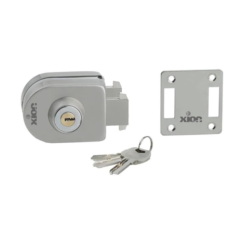 XN-GL-1 (Key & Knob), Wall to Glass Door Lock (Capsule Type)