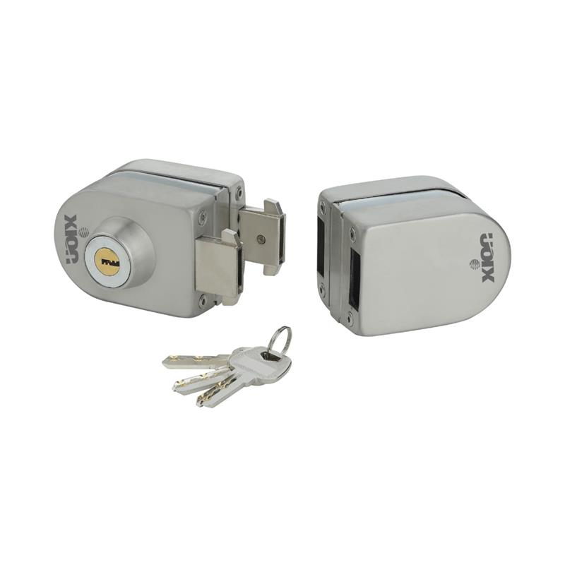 XN-GL-2 (Key & Knob), Glass to Glass Door Lock (Capsule Type)