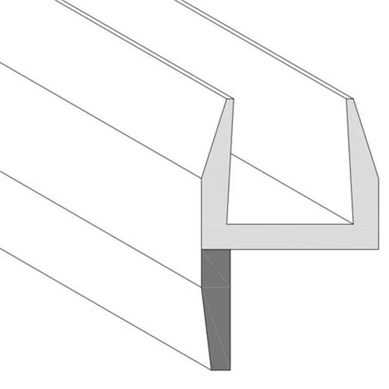 XN-PP-1, Glass to Glass to Weather Seal 180 degree (Side Seal)