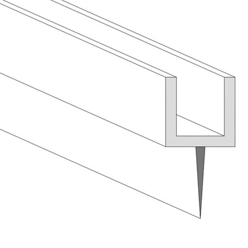 XN-PP-5, Glass to Wall Bottom Weather Seal (Center Seal)